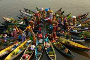 APAS Honor Mention e-certificate - I Wayan Gunayasa (Indonesia)  Floating Market