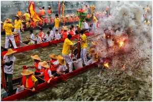 FIP Ribbon - Thomas Lang (USA)  Dragon Boats Festival