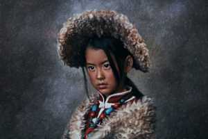APAS Honor Mention e-certificate - Jie Zhang (China)  Girl With Large Hat