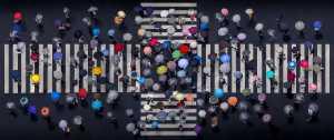 ICPE Gold Medal - Daniel Bonte (Japan)  Umbrella Crossing