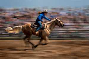 PhotoVivo Gold Medal - Nancy Yok Sim Lam (Canada)  Cowgirl
