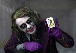PhotoVivo Honor Mention e-certificate - Lee Sutton (England)  The Joker