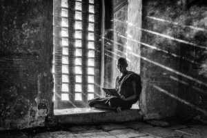 Circuit Merit Award e-certificate - Xiaoting Wang (China)  A Monk In A Monastery