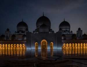 APAS Gold Medal - Jie Fischer (USA)  The Night View Of The Grand Mosque
