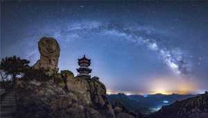 APU Honor Mention E-Certificate - Junlin Tang (China)  Milky Way Night