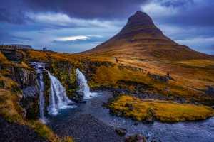 PhotoVivo Honor Mention e-certificate - Lili Yudiarta (Indonesia)  Mt. Kirkjufell Waterfall Iceland