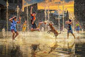 ICPE Gold Medal - Yuk Fung Garius Hung (Hong Kong)  Water Fountain Splash