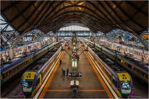 PhotoVivo Gold Medal - Lisa Law (Australia)  Melbourne Southern Cross Station