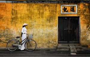 APAS Gold Medal - Lee Eng Tan (Singapore)  Viet White Lady Bicycle