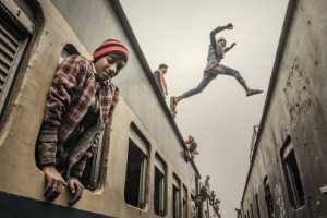 FIP Ribbon - Chenglin Zheng (China)  Different Lives In The Train 8