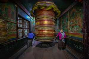 PhotoVivo Gold Medal - Yuk Fung Garius Hung (Hong Kong)  Turning The Fortune Wheel