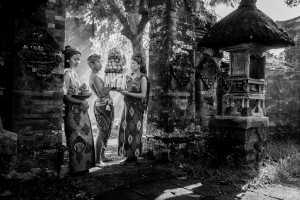 ICPE Gold Medal - I Wayan Gunayasa (Indonesia)  A Man With Two Women