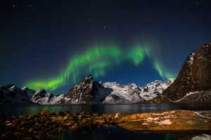 APAS Gold Medal - Nancy Lee (Canada)  Aurora Borealis In Reine -Norway 3