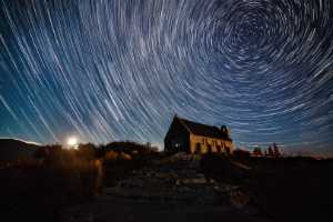 APU Gold Medal - Ciliang Ren (China)  Star Trails
