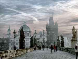 APU Spring Honor Mention E-Certificate - Gabriele Dellanave (USA)  Praha Foggy Sunrise