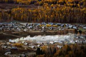 PhotoVivo Honor Mention e-certificate - Gaochao Hong (China)  Autumn Rhyme
