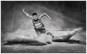APU Summer Honor Mention E-Certificate - Yan Wong (China)  Long Jump