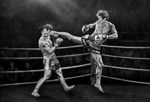 ICPE Gold Medal - Yuk Fung Garius Hung (Hong Kong)  A Painful Kick