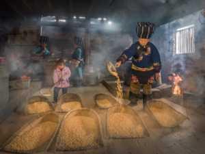 FIP Ribbon - Liquan Sheng (China)  In The Village Home 3