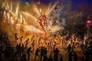 APAS Gold Medal - Im Kai Leong (Macau)  New year fire dragon