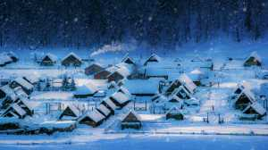 ICPE Honor Mention e-certificate - Yanping Qiu (China)  Small Town In The Snow