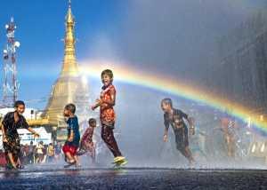 APAS Gold Medal - Zaw Min (Myanmar)  Happy Water Festival