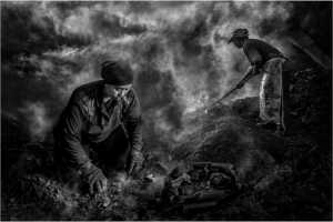 PSK Gold Medal - Yong-Kang Teo (Singapore)  Charcoal Workers