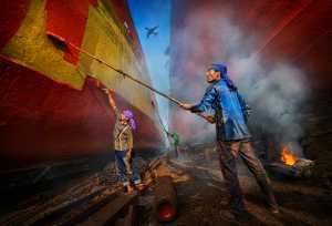 APAS Gold Medal - Arnaldo Paulo Che (Hong Kong)  Shipyard Workers 2