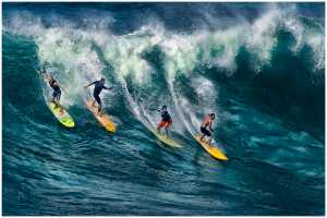 PhotoVivo Honor Mention e-certificate - Thomas Lang (USA)  Hawaii Surfers Competition