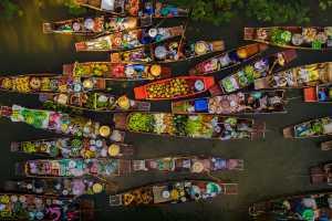 PSA Gold Medal - Seksan Saowarod (Thailand)  floating market