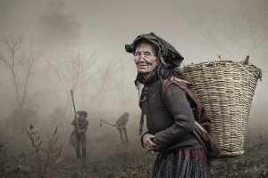PhotoVivo Gold Medal - Arnaldo Paulo Che (Hong Kong)  Old Woman With Rattan Basket 1
