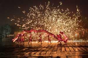 Certificate of Nomination - Chuanzhong Li (China)  Dragon Dance