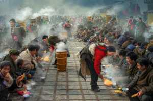 PhotoVivo Gold Medal - Arnaldo Paulo Che (Hong Kong)  Butter Tea Party 4