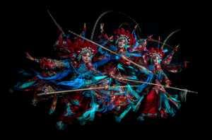 PSA Gold Medal - Woodpecker Huang (Taiwan)  Mu Guiyings War Dance C