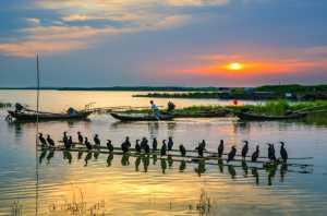 PhotoVivo Gold Medal - Zhemin Li (China)  The Sunset To The Port