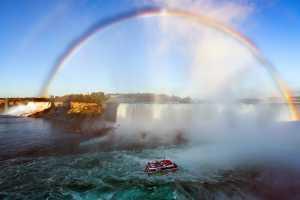 Circuit Merit Award e-certificate - Hung Ho (USA)  Rainbow Over Niagara Falls