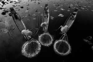 ICPE Gold Medal - Hein Htet (Singapore)  Three Inle Fisherman