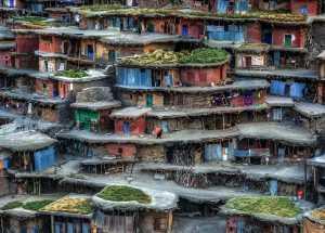 Raffles Photo Gold Medal - Babak Mehrafshar (Iran)  Colorful Village