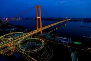 PhotoVivo Gold Medal - Yanbin Wang (China)  Yangtze River Bridge