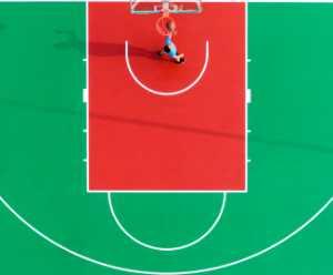 APU Gold Medal - Ming Li (China)  Basketball Teenager