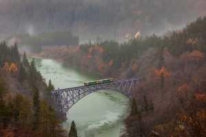 PhotoVivo Honor Mention e-certificate - Chan Myei Maung (Japan)  Fukushima Tadami River Bridge In Japan