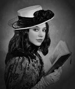 APU Honor Mention e-certificate - Barbara Jenkin (England)  Bella With Book