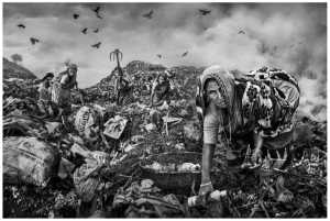 PhotoVivo Gold Medal - Wendy Wai Man Lam (Hong Kong)  Garbage Pickers Bw