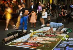 APU Spring Merit Award E-Certificate - Fendy P.C. Yeoh (Indonesia)  Street Painter