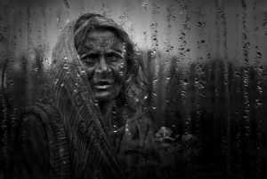 PhotoVivo Gold Medal - Shourjendra Datta (India)  Old Woman In Rain