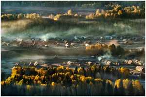 PhotoVivo Gold Medal - Thomas Lang (USA)  Misty Dawn
