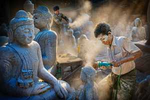 PhotoVivo Honor Mention e-certificate - Yan Wong (China)  Polishing