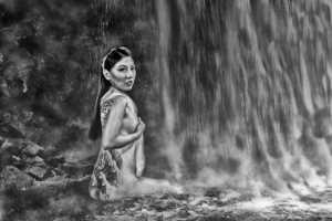 APU Honor Mention E-Certificate - Teck Boon Lim (Singapore)  Waterfall Tatoo Lady