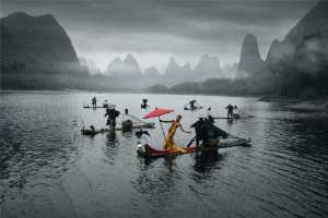 APU Honor Mention e-certificate - Shiliang Liu (China)  Beautiful Woman On The River