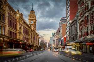 Circuit Merit Award e-certificate - Lisa Law (Australia)  Flinders Street Traffic